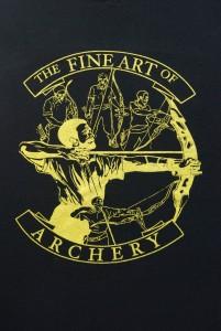 black t shirt logo