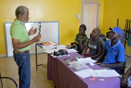 CB teaching Senegal