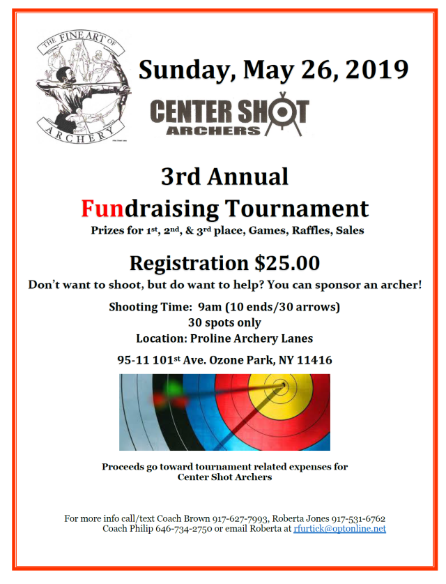 2019 CSA Fundraising Tournament